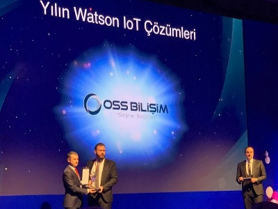 Watson IoT Award of the Year went to OSS Bilişim